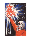 Towards the Stars !, C.1960s Giclee Print by Vadim Petrovich Volikov
