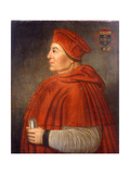 Portrait of Thomas Wolsey, Cardinal of York, C.1675 Giclee Print