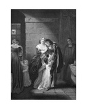 Lord W. Russel's Last Interview with His Family, Engraved by A.H. Payne Giclee Print by Robert Smirke