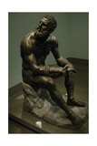 Boxer of Quirinal, also known as the Terme Boxer Giclee Print