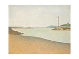 Les Balises, Saint-Briac, 1890 Giclee Print by Paul Signac