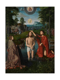 The Baptism of Christ, C.1502-08 Giclee Print by Gerard David