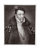 Thomas Radclyffe, Earl of Sussex, Engraved by H. Robinson Giclee Print by Antonio Moro