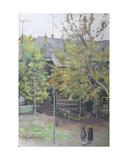Perunovskii Lane in Moscow, C.1960s Giclee Print by Galina Konstantinovna Shubina