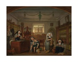 The Pharmacy at Saint-John's Hospital Giclee Print by Philipe Jacques Van Bree