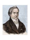 Karl Wilhelm Friedrich Schlegel (1772 1829). German Poet, Critic and Scholar Giclee Print