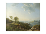 View over Heidelberg, 1837 Giclee Print by Barend Cornelis Koekkoek