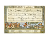 The Hunter in His Career', Song Illustration from 'Pan-Pipes', a Book of Old Songs, Newly… Giclee Print by Walter Crane