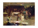 The Fishmarket, Patrick Street, 1893 Giclee Print by Walter Frederick Osborne