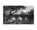 Eltham Bridge, Kent, Engraved by Henry Adlard, 1832 Giclee Print by Henry Gastineau