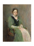 Nellie O'Brien Giclee Print by Walter Frederick Osborne