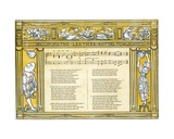 The 'Leather Bottel', Song Illustration from 'Pan-Pipes', a Book of Old Songs, Newly Arranged and… Giclee Print by Walter Crane