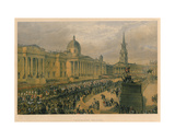 Trafalgar Square, 1863 Giclee Print by Robert Charles Dudley