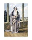 An Armenian Woman at Constantinople, 1823 Giclee Print by William Page