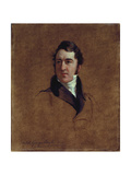 Portrait Sketch of John Poulter, 1834 Giclee Print by Sir George Hayter