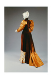 Back View of a Reception Dress, Bodice and Skirt Giclee Print by Kate R. Cregmile