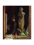 Portrait of the Artist Giclee Print by Sir William Orpen