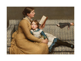 Alice in Wonderland, C.1879 Giclee Print by George Dunlop Leslie
