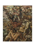 The Fall of the Rebel Angels, 1554 Giclee Print by Frans Floris