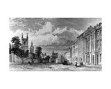 Westgate Street, Newcastle-Upon-Tyne, Engraved by William Collard, 1842 Giclee Print by Thomas Miles Richardson