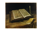 Still Life with Bible, 1885 Giclee Print by Vincent van Gogh