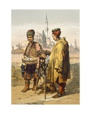 Ambulant Snack Sellers, 1865 Giclee Print by Amadeo Preziosi