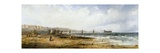 Chain Pier, Brighton, 1856 Giclee Print by George D. Callow