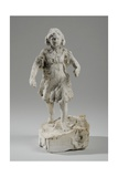 Maquette for Figure of a Girl Running Giclee Print by William Hamo Thornycroft