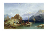 Lake Thun, 1852 Giclee Print by Harry John Johnson