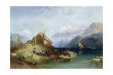 Lake Thun, 1852 Giclee Print by Harry John Johnson