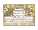 My Lady Greensleeves', Song Illustration from 'Pan-Pipes', a Book of Old Songs, Newly Arranged… Giclee Print by Walter Crane