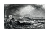 Ramsgate, Kent from 'Picturesque Views on the Southern Coast of England' Engraved by Robert… Giclee Print by J. M. W. Turner