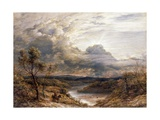 Sun Behind Clouds, 1874 Giclee Print by John Linnell