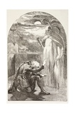 Hamlet Sees the Ghost, the Spirit of His Father, from 'The Illustrated Library Shakespeare',… Giclee Print