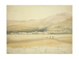 Ayacucho from Huamayo, 1855 Giclee Print by Godfrey Thomas Vigne