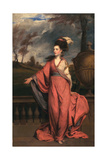 Jane Fleming, Later Countess of Harrington, C.1778-79 Giclee-trykk av Sir Joshua Reynolds