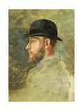 Sketch Bust Portrait of J.B.S. Macilwaine, 1880 Giclee Print by Walter Frederick Osborne