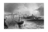 Broadstairs, Kent, Engraved by Robert Brandard, 1842 Giclee Print by William Henry Bartlett
