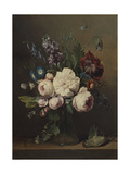 A Vase of Flowers Giclee Print by Louis Leopold Boilly
