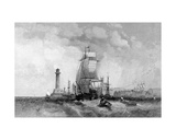 Margate, Kent, Engraved by Henry Wallis, C.1830 Giclee Print by Alfred Vickers