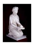 Statue of a Vestal Virgin Giclee Print by Raffaello Monti