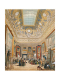 Study Day at the Louvre, C.1840-49 Giclee Print by A Provost