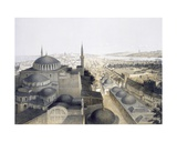 Panoramic View of Constantinople from the Domes, 1852 Giclee Print by Gaspard Fossati