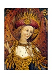 Cherubim, One of the Nine Orders of Angels, with Gold Plumage Covered with Eyes, Superior… Giclée-Druck