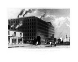 The Twist Factory, Oxford Street, Manchester, Engraved by John Mcgahey, 1829 Giclee Print by John Harwood