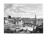 Newcastle-Upon-Tyne from the South Giclee Print by John Knox