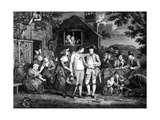 The Recruiting Serjeant, Engraved by John Goldar, 1769 Giclee Print by John Collet