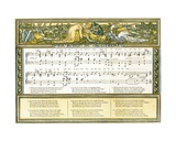 Sir Simon De Montfort', Song Illustration from 'Pan-Pipes', a Book of Old Songs, Newly Arranged… Giclee Print by Walter Crane