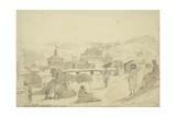 Kashmirian Village, 1836 Giclee Print by Godfrey Thomas Vigne