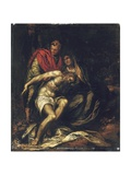 The Lamentation Giclee Print by Orazio Farinati